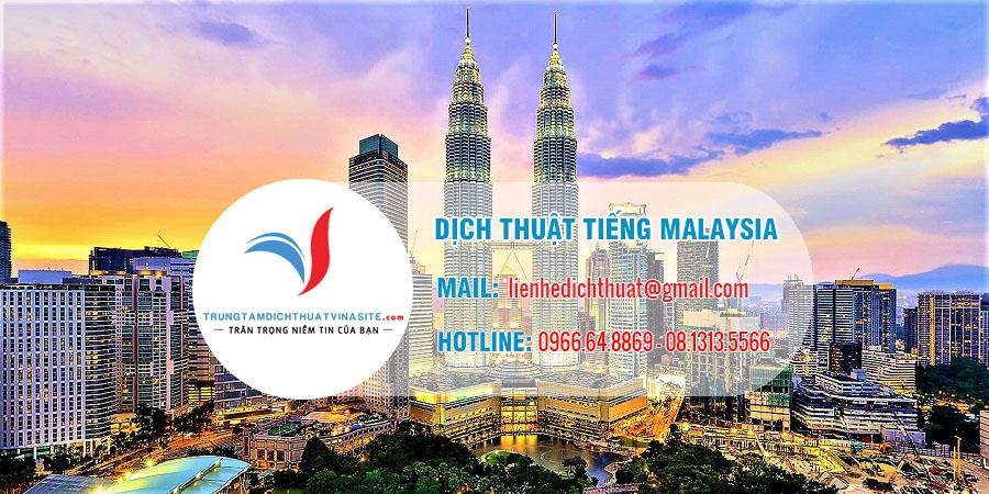 dịch thuật malaysia - Dịch Thuật Tiếng Malaysia