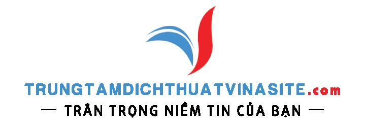 Trung tâm dịch thuật tiếng anh vinaSite