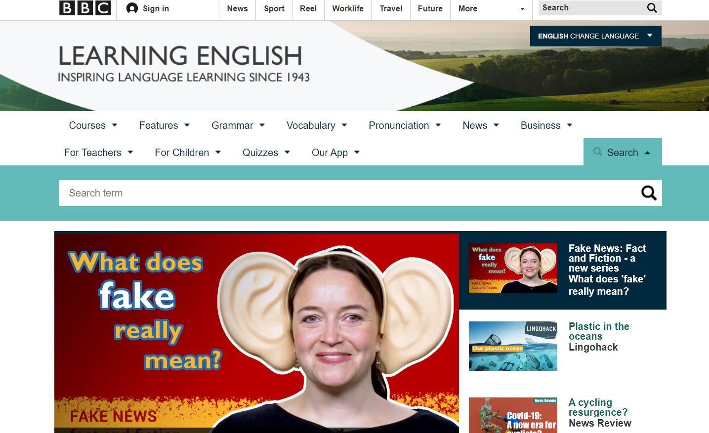 học tiếng anh bbc